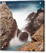 Point Lobos Number Two Acrylic Print by Catherine Lau