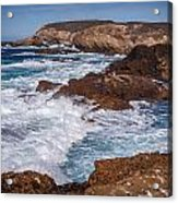 Point Lobos Surf Acrylic Print