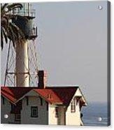 Point Loma California Lighthouse Acrylic Print