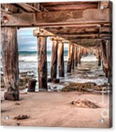 Point Lonsdale Jetty Acrylic Print by Shannon Rogers