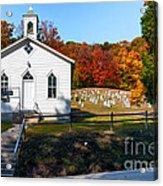 Point Mountain Community Church - Wv Acrylic Print