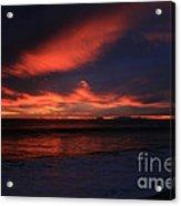 Point Mugu 1-9-10 Just After Sunset Acrylic Print