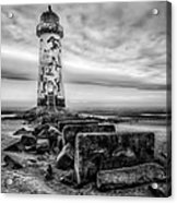 Point Of Ayre Lighthouse Acrylic Print