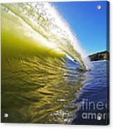 Point Of Contact Acrylic Print