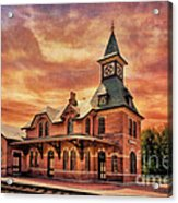 Point Of Rocks Train Station  Acrylic Print