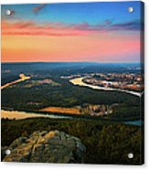 Point Park Overlook Acrylic Print
