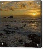 Point Piedras Blancas Sunset Acrylic Print