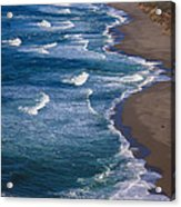 Point Reyes Long Beach Acrylic Print by Garry Gay
