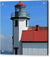 Point Robinson Light House Acrylic Print