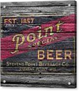 Point Special Beer Acrylic Print