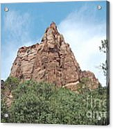 Pointed Rock Acrylic Print