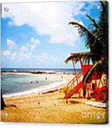 Poipu Beach Kauai Hawaii Acrylic Print