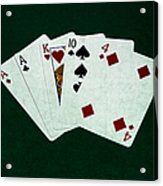 Poker Hands - One Pair 1 Acrylic Print