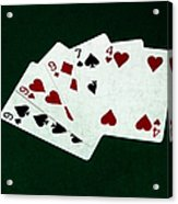 Poker Hands - Three Of A Kind 2 Acrylic Print