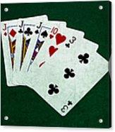 Poker Hands - Three Of A Kind 3 Acrylic Print