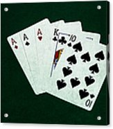 Poker Hands - Three Of A Kind 4 Acrylic Print