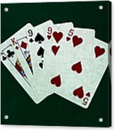 Poker Hands - Two Pair 1 Acrylic Print