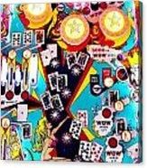 Poker Playfield Acrylic Print