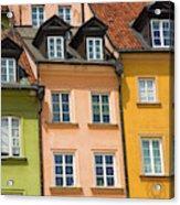 Poland, Warsaw Close-up Of Building Acrylic Print