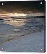 Polar Storm Acrylic Print