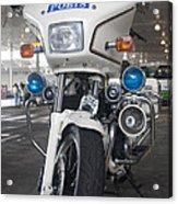 Police Honda Acrylic Print