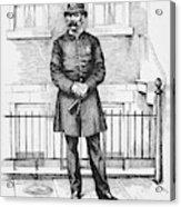 Policeman, C1885 Acrylic Print