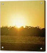 Polk City Sunrise Acrylic Print