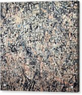 Pollock's Number 1 -- 1950 -- Lavender Mist Acrylic Print by Cora Wandel