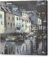 Polpero Cornwall England Acrylic Print