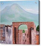 Pompeii And Vesuvius   Acrylic Print
