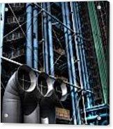 Pompidou Pipes Acrylic Print