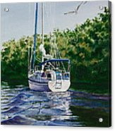 Ponce De Leon Passage Acrylic Print by Karol Wyckoff