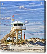 Ponce Inlet Scenic Acrylic Print