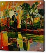 pond No.3 Acrylic Print