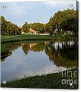 Pond View Acrylic Print