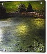 Pondshine Acrylic Print