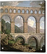 Pont Du Gard, Nimes Acrylic Print