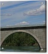 Pont La Javie  South France Acrylic Print