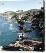 Pont Lobos Cove Acrylic Print
