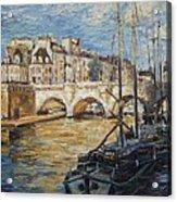 Pont Neuf Paris Acrylic Print