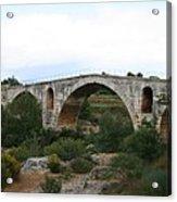 Pont St. Julien And Calavon River  Acrylic Print