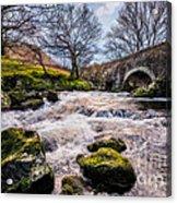 Pont Y Ceunan Bridge Acrylic Print