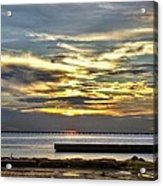 Pontchartrain Sunset Acrylic Print