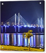Ponte Estaiada De Aracaju - Construtor Joao Alves Acrylic Print