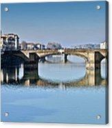 Ponte Santa Trinita Florence Italy Acrylic Print