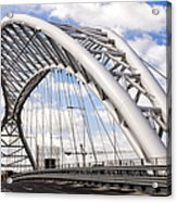 Ponte Settimia Spizzichino Acrylic Print
