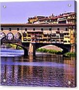 Ponte Vecchio Bridge - Florence Acrylic Print
