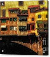 Ponte Vecchio Firenze Acrylic Print