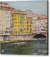 Ponti Vecchio Acrylic Print