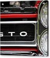 Pontiac Gto Front Acrylic Print